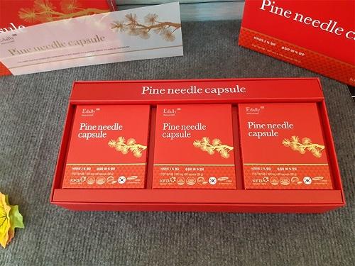 pine needle capsule edally giúp cơ thể khỏe mạnh dài lâu