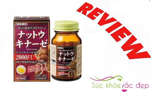 Review orihiro nattokinase 2000fu của Nhật Bản là gì?