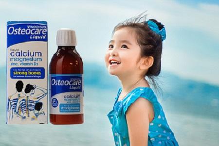 Review Canxi nước Osteocare Liquid Original có tốt không