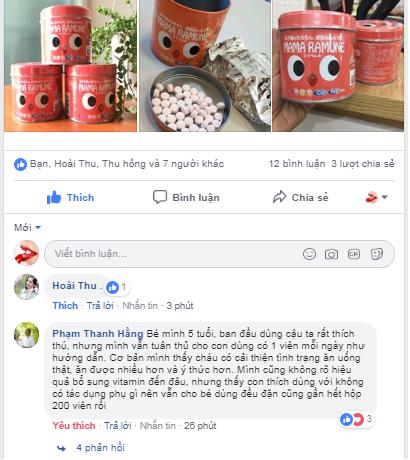 Review Kẹo Biếng Ăn Mama Ramune Của Nhật Từ Người Tiêu Dùng