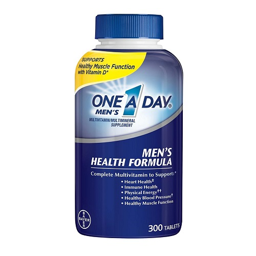 Review One A Day Men's Multivitamin Health Formula 300 viên