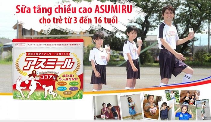 review Sữa tăng trưởng chiều cao Asumiru Nhật Bản có tốt không