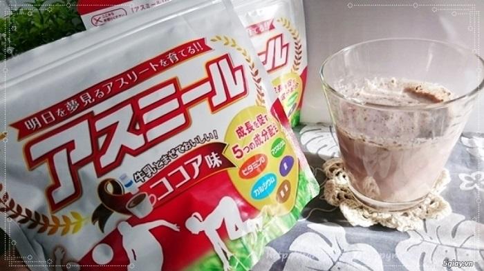 Sữa tăng trưởng chiều cao Asumiru Nhật Bản có tốt không