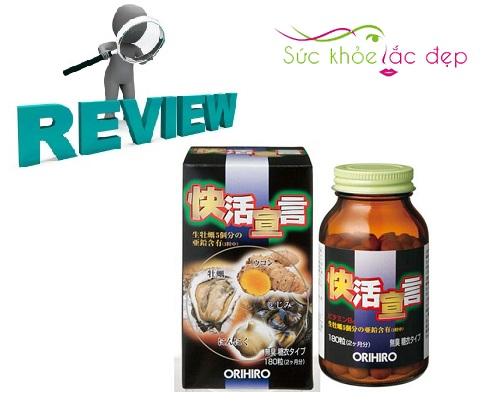 Review tinh chất hàu tươi tỏi nghệ orihiro từ khách hàng