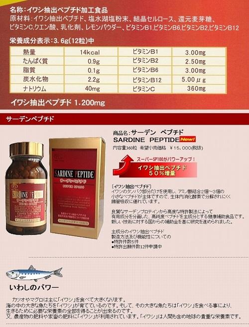 Review viên giảm huyết áp cá trích Sardine Peptide 300 viên Nhật Bản