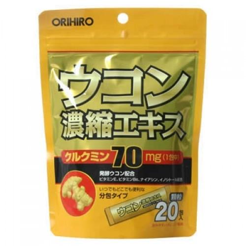 Bột nghệ giải rượu,giải độc tố Ukon Orihiro Japan