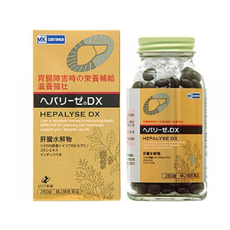 Viên giải độc gan bổ gan Hepalyse DX Nhật Bản