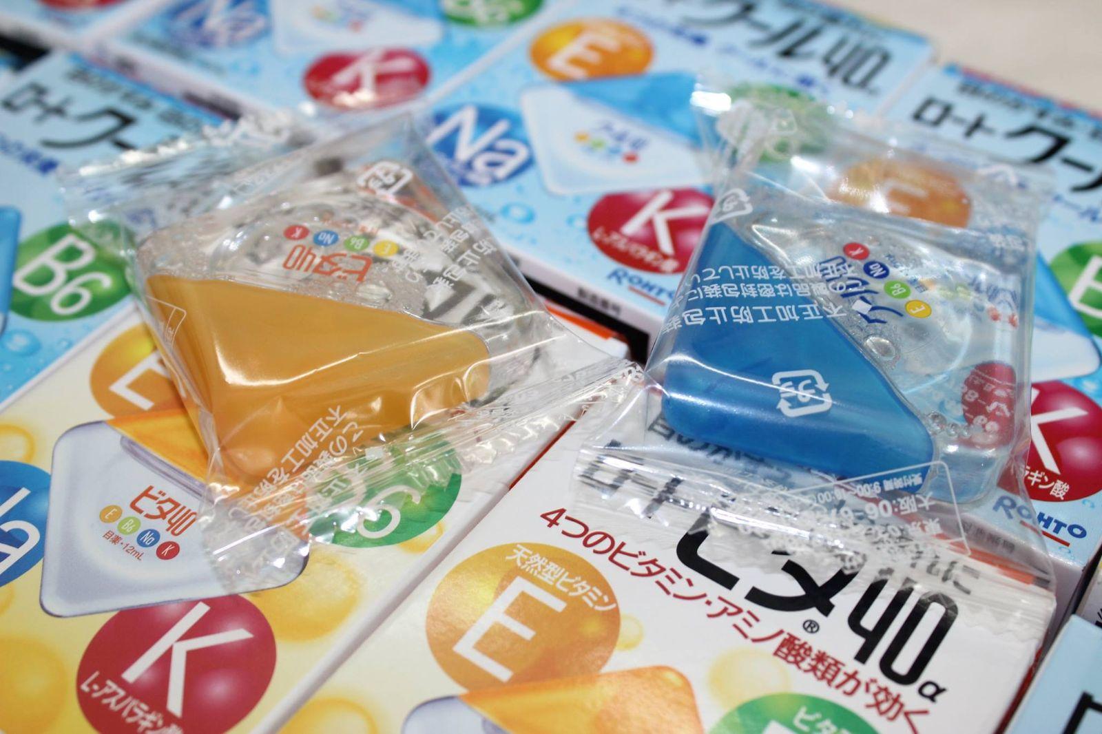 Thuốc nhỏ sáng mắt Rohto nhập khẩu 100 % từ Nhật Bản