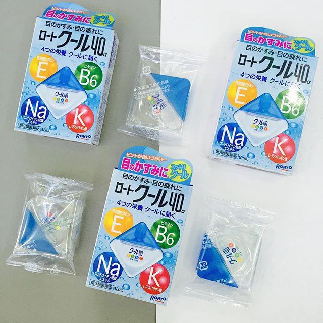 Thuốc nhỏ mắt Rohto của Nhật có nguồn vitamin dồi dào