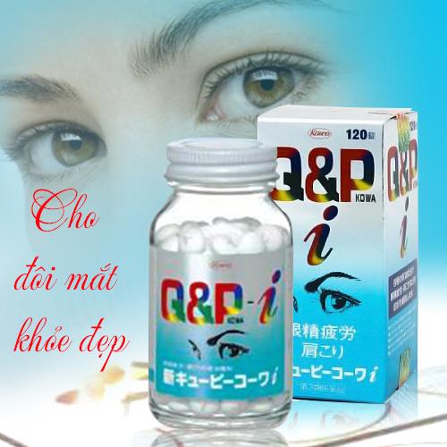 Viên uống bổ mắt Q&P Kowa cho đôi mắt khỏe đẹp