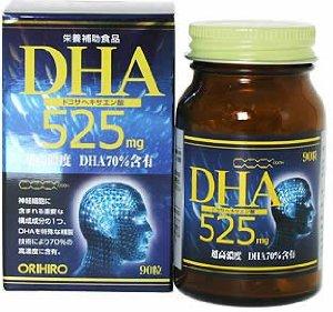 Orihiro DHA 525 - viên bổ não cải thiện trí nhớ hàng đầu Nhật Bản