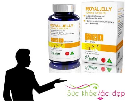 Đối tượng sử dụng viên uống Royal Jelly 1000mg của Mỹ