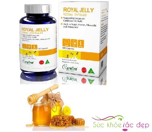 Vì sao nên sử dụng sữa ong Chúa Royal Jelly 100 viên của Mỹ.