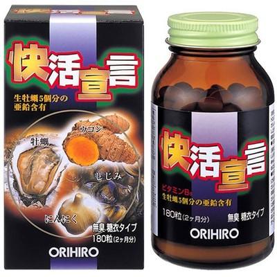 Viên uống bổ gan, thải độc và cường dương Orhiro