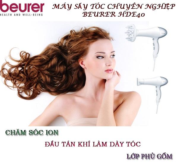 Máy sấy tóc chuyên nghiệp Beurer HDE40
