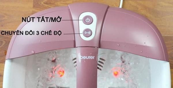 Bồn ngâm chân hồng ngoại hương thơm Beurer FB35
