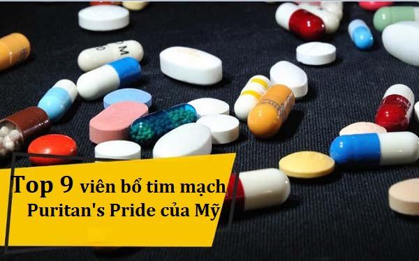 Top 9 thuốc bổ tim mạch Puritan's pride của Mỹ tốt nhất
