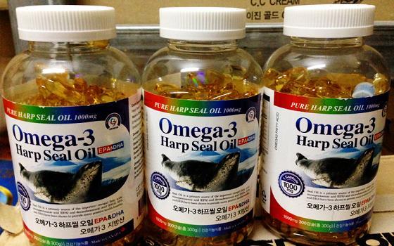Tinh dầu hải cẩu Hàn Quốc New Omega 3 Harp Seal Oil