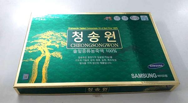 Đối tượng nên sử dụng  tinh dầu thông đỏ Cheongsongwon 180 viên
