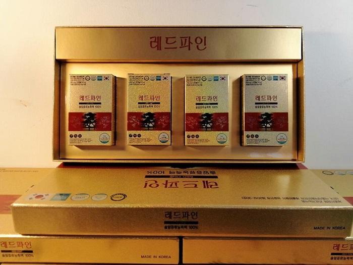 Viên Tinh Dầu Thông Đỏ Red Fine Chính Hãng Hàn Quốc