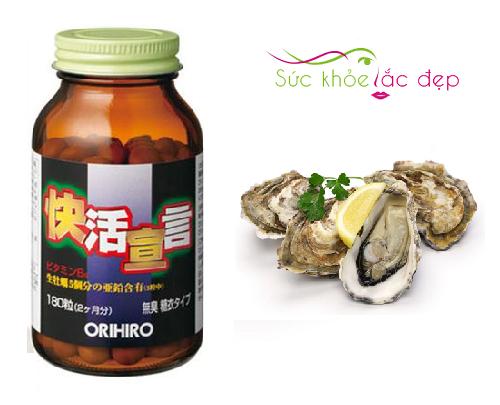 Công dụng của tinh chất hàu tươi tỏi nghệ orihiro 180 viên Nhật Bản là gì?