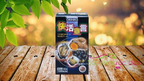 Công dụng của tinh chất hàu tươi tỏi nghệ orihiro 180 viên Nhật Bản
