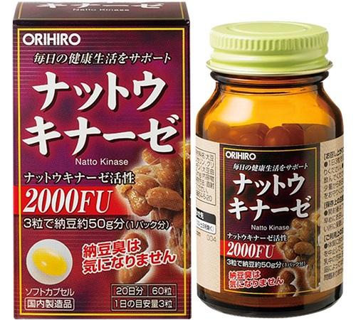 Top 3 viên uống phòng chống đột quỵ của Nhật tốt nhất hiện nay
