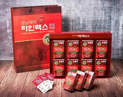 Top 3 viên tinh dầu thông đỏ Hàn Quốc được yêu thích nhất hiện nay