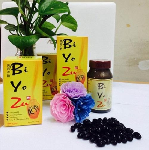 Viên dấm đen Biyozu
