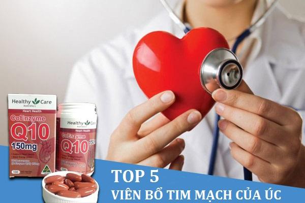 Top 5 thuốc bổ tim mạch Úc đáng dùng nhất hiện nay