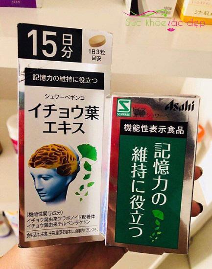 Top 5 viên uống bổ não của Nhật được người dùng đánh giá cao