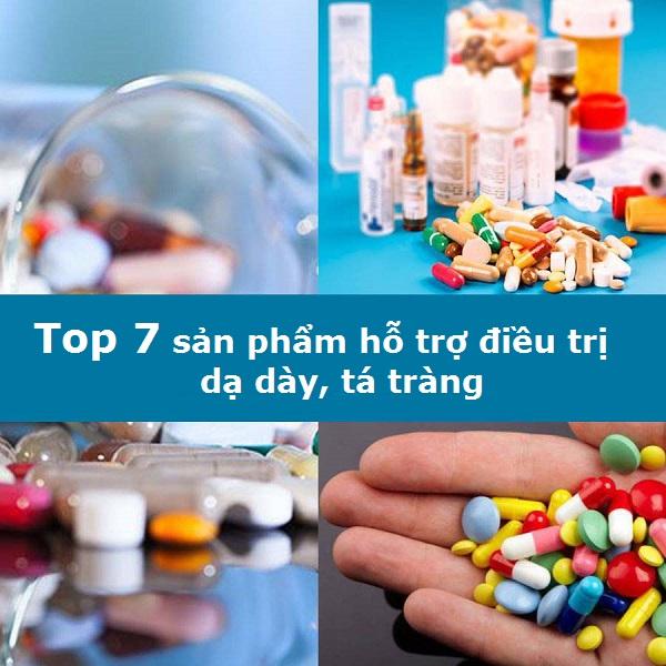 Top 7 sản phẩm hỗ trợ điều trị dạ dày, tá tràng phổ biến