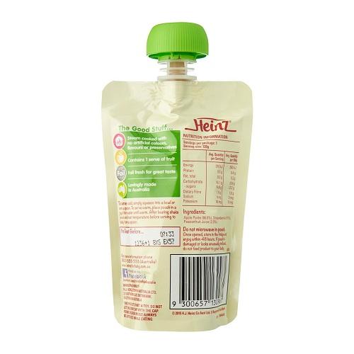 Váng sữa Heinz Custard Mango & Vanilla Úc cho bé từ 8 tháng tuổi