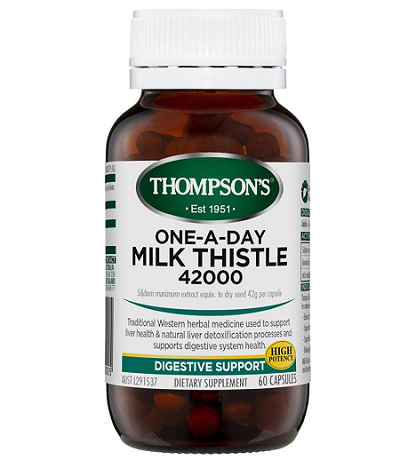 Viên uống Thompson's One-A-Day Milk Thistle 42000mg