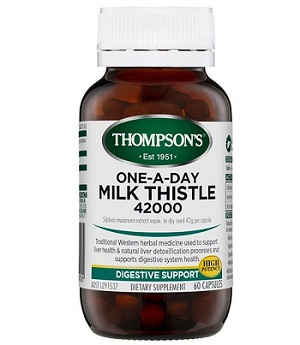 Thompson's One-a-day Milk Thistle 42000mg 60 viên