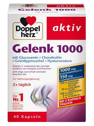 Review Doppelherz Aktiv Gelenk 1000