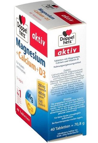 Sử dụng Magnesium Calcium D3  nên kết hợp với điều gì?