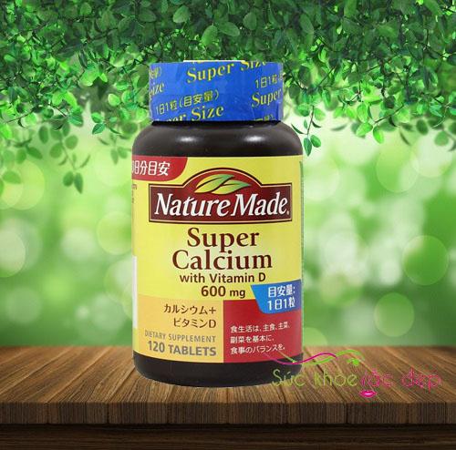 Viên uống canxinature made super calcicum 60mg nguồn gốc có tốt không