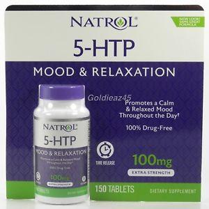 Viên Natrol 5 – HTP Mood & Relaxation 100mg 150 viên của Mỹ