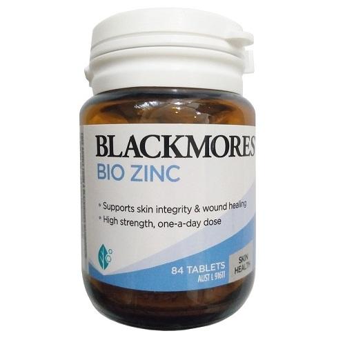Viên uống bổ sung kẽm Blackmores Bio ZinC của Úc 84 viên