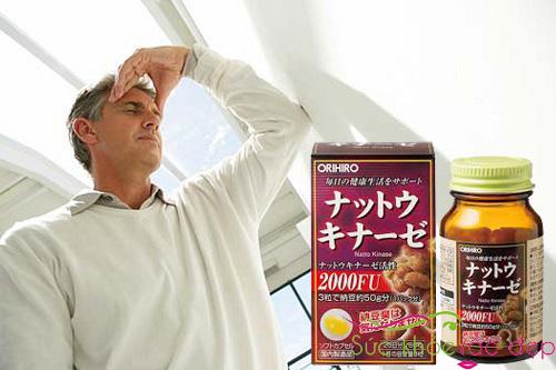 Cách sử dụng nattokinase 2000fu orihiro của Nhật Bản Đối với người bị đột quỵ