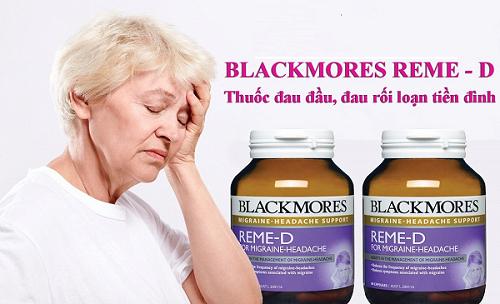 Đối tượng sử dụng Blackmores Reme-d của úc.