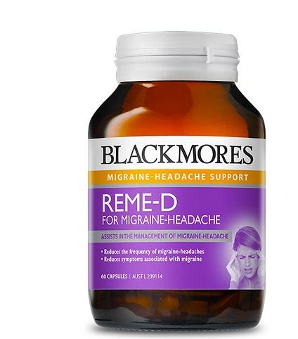 Đau nửa đầu là gì? Tại sao Blackmores Reme-d có tác dụng tốt trong điều trị đau đầu?