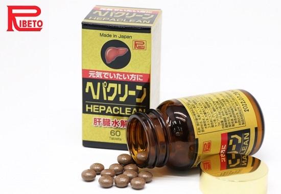 Viên uống bổ gan Hepaclean Ribeto Nhật Bản