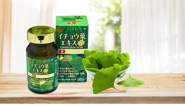 Viên hỗ trợ tuần hoàn não Ichoha Ekisu Plus Ribeto Nhật Bản