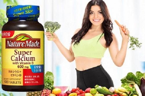 Viên uống canxinature made super calcicum 60mg công dụng có tốt không?