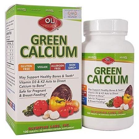 Viên Uống Bổ Sung Canxi Hữu Cơ Green Calcium