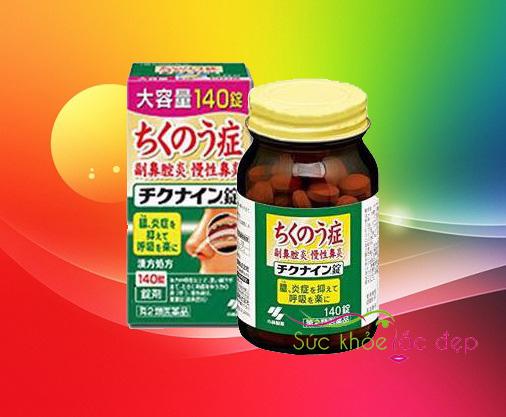 Cách sử dụng thực phẩm chức năng chikinain 140 viên Nhật Bản