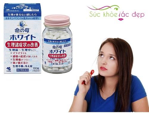 Công dụng của viên uống điều hòa kinh nguyệt Kobayashi 180 viên của Nhật bản