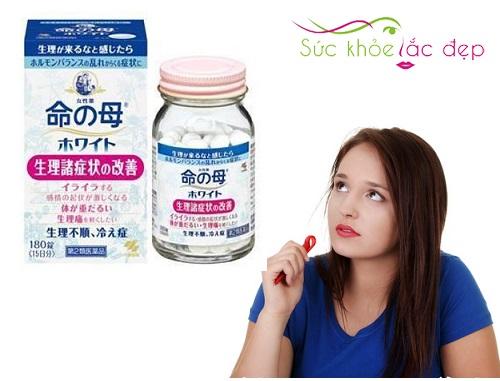 Viên Uống điều hòa kinh nguyệt kobayashi Nhật Bản có tốt không?